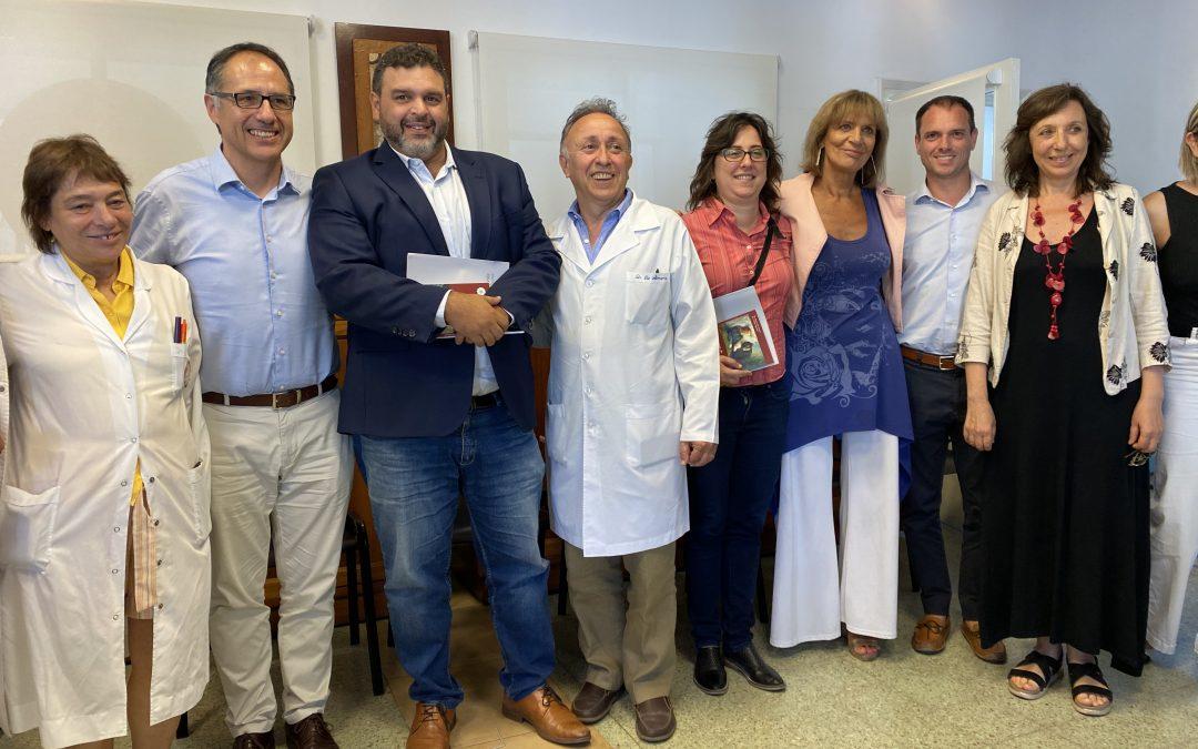Encuentro en el Hospital Udaondo con el Dr Sergio Wisky